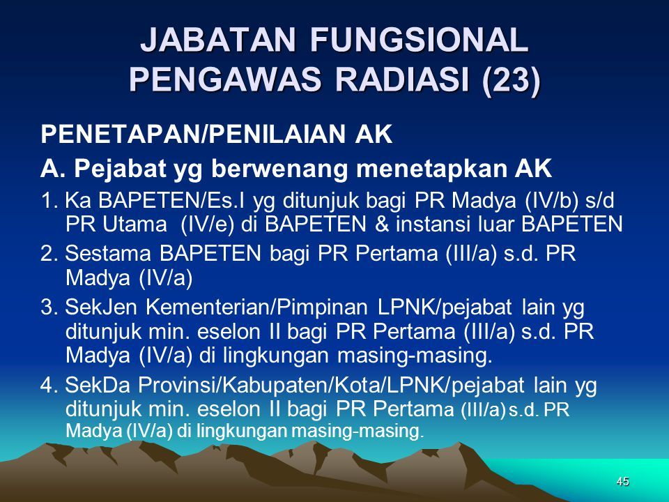 JABATAN FUNGSIONAL PENGAWAS RADIASI (23)