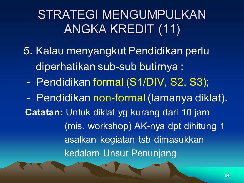 STRATEGI MENGUMPULKAN ANGKA KREDIT (11)