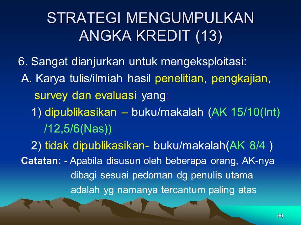 STRATEGI MENGUMPULKAN ANGKA KREDIT (13)