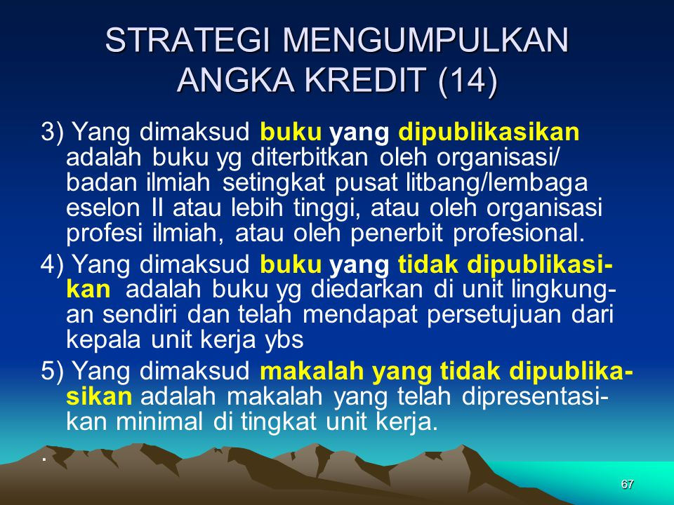 STRATEGI MENGUMPULKAN ANGKA KREDIT (14)