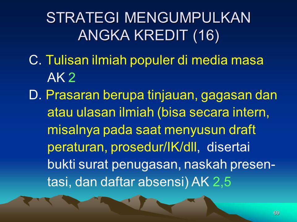 STRATEGI MENGUMPULKAN ANGKA KREDIT (16)