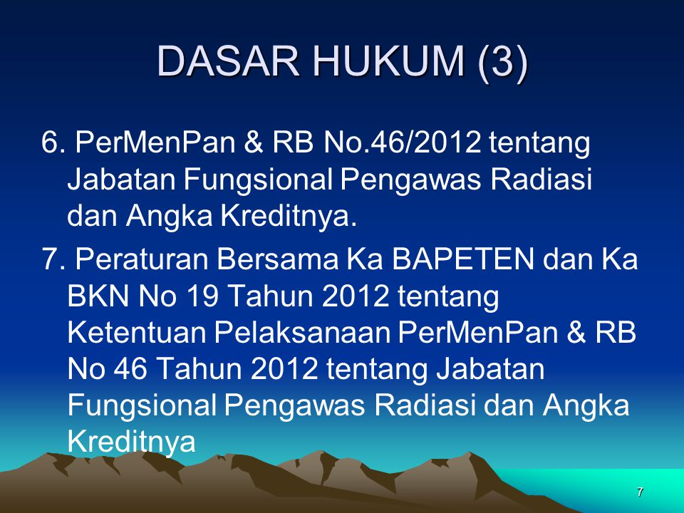 DASAR HUKUM (3)