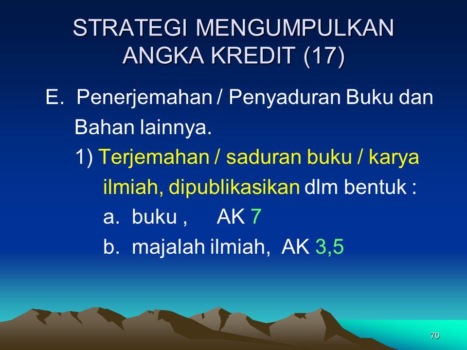 STRATEGI MENGUMPULKAN ANGKA KREDIT (17)