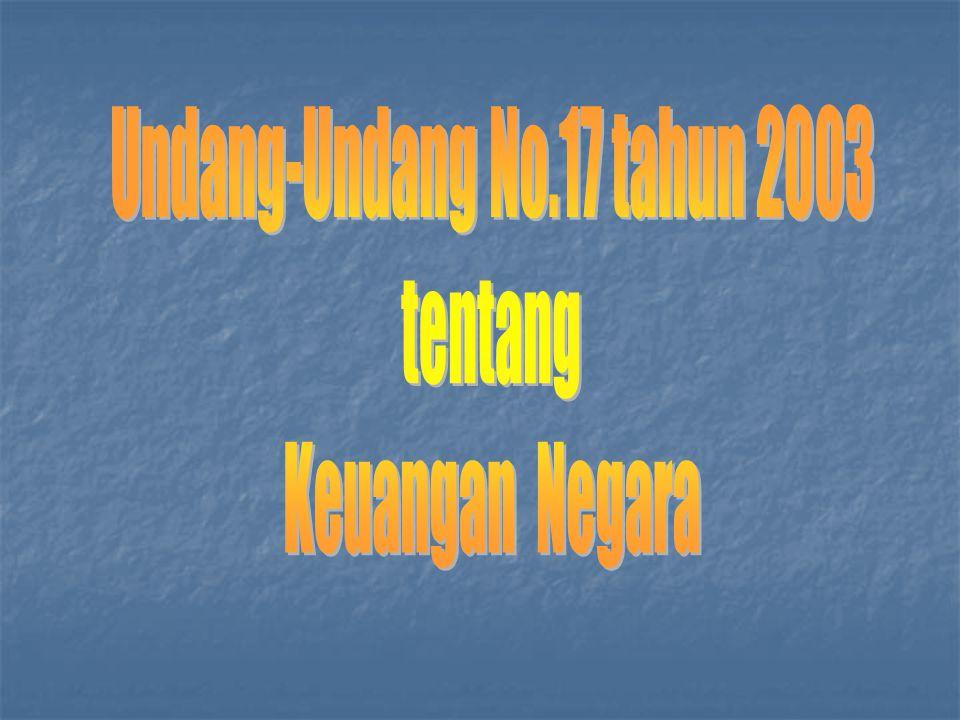 Undang-Undang No.17 tahun 2003