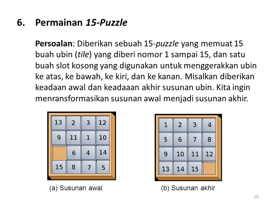 Permainan 15-Puzzle