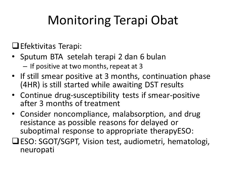 Monitoring Terapi Obat