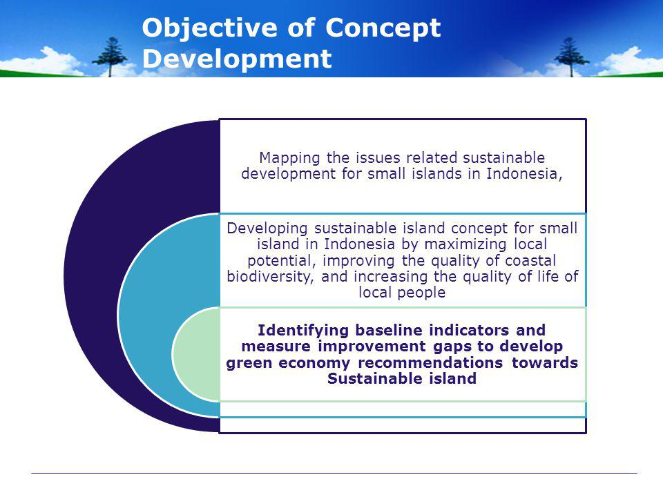 Objective of Concept Development