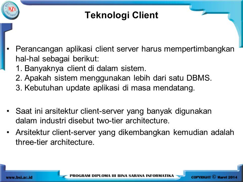 Teknologi Client