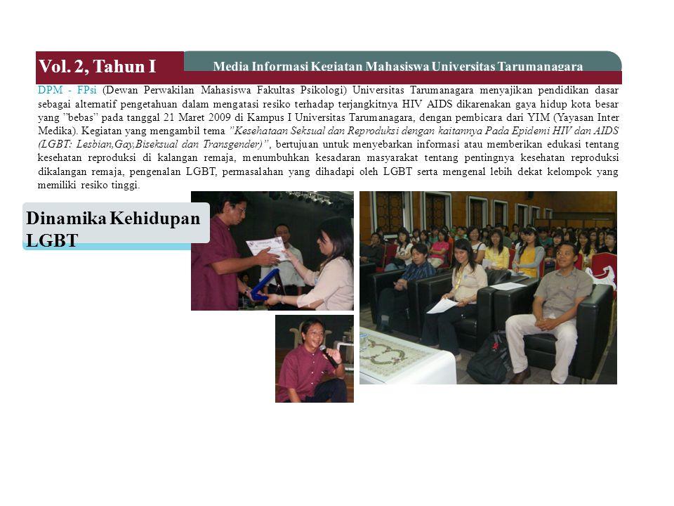 Media Informasi Kegiatan Mahasiswa Universitas Tarumanagara