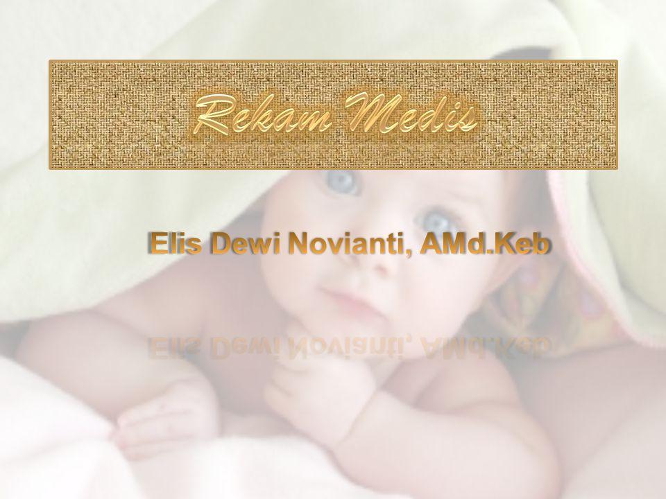 Elis Dewi Novianti, AMd.Keb