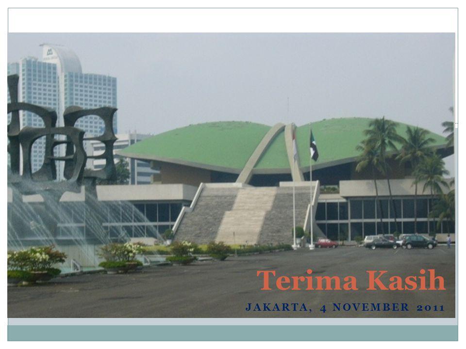 Terima Kasih Jakarta, 4 November 2011