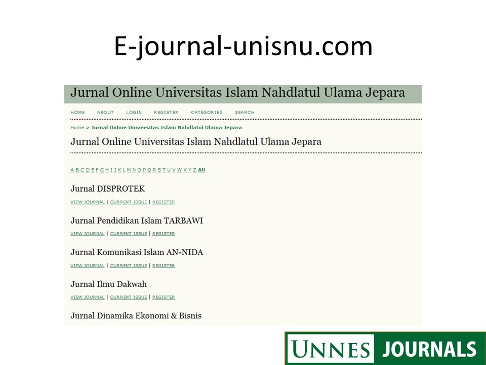 E-journal-unisnu.com