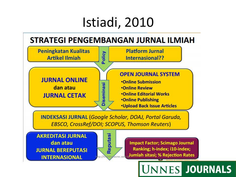 Istiadi, 2010