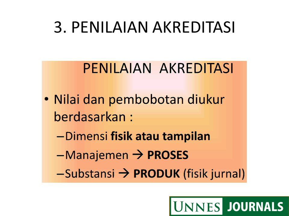 3. PENILAIAN AKREDITASI