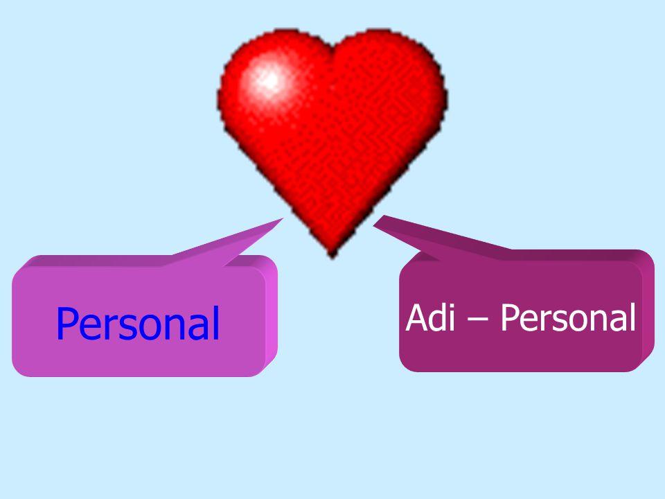 Adi – Personal Personal