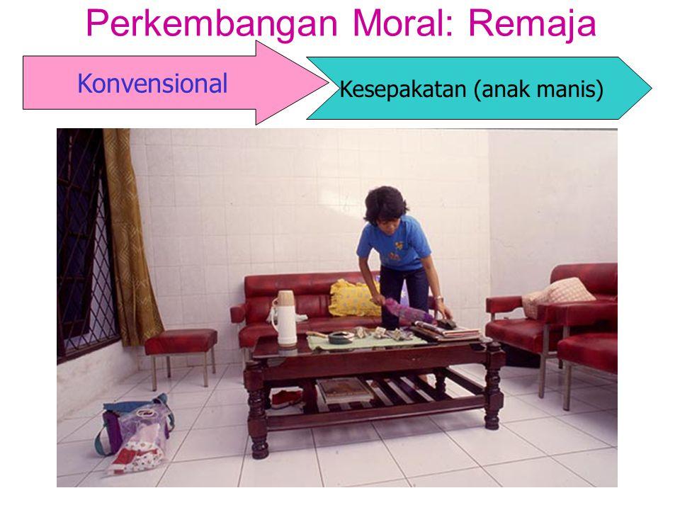 Perkembangan Moral: Remaja