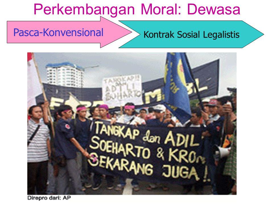 Perkembangan Moral: Dewasa