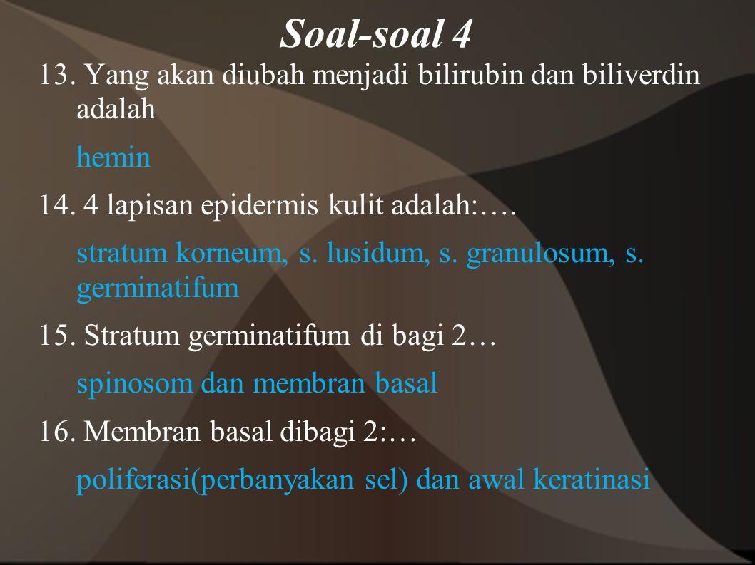 Soal-soal 4