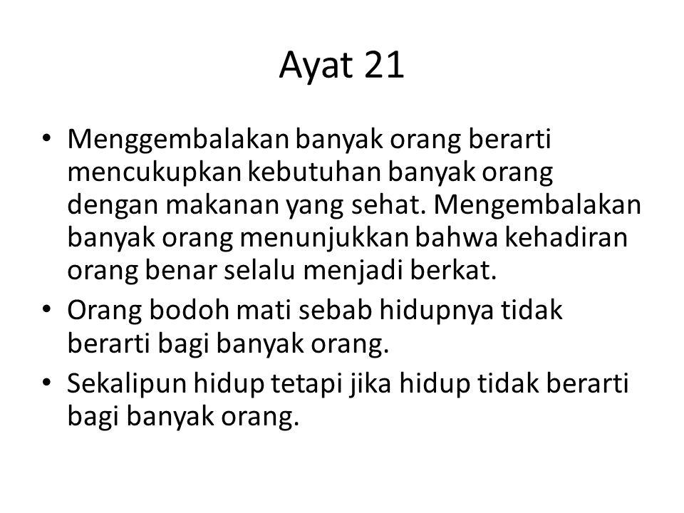 Ayat 21