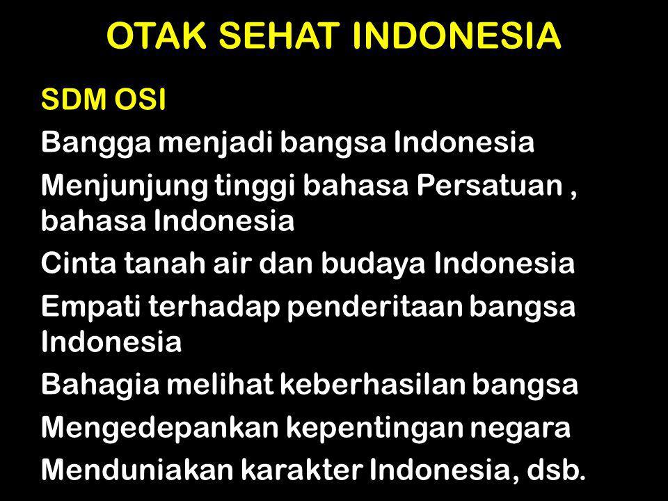 OTAK SEHAT INDONESIA