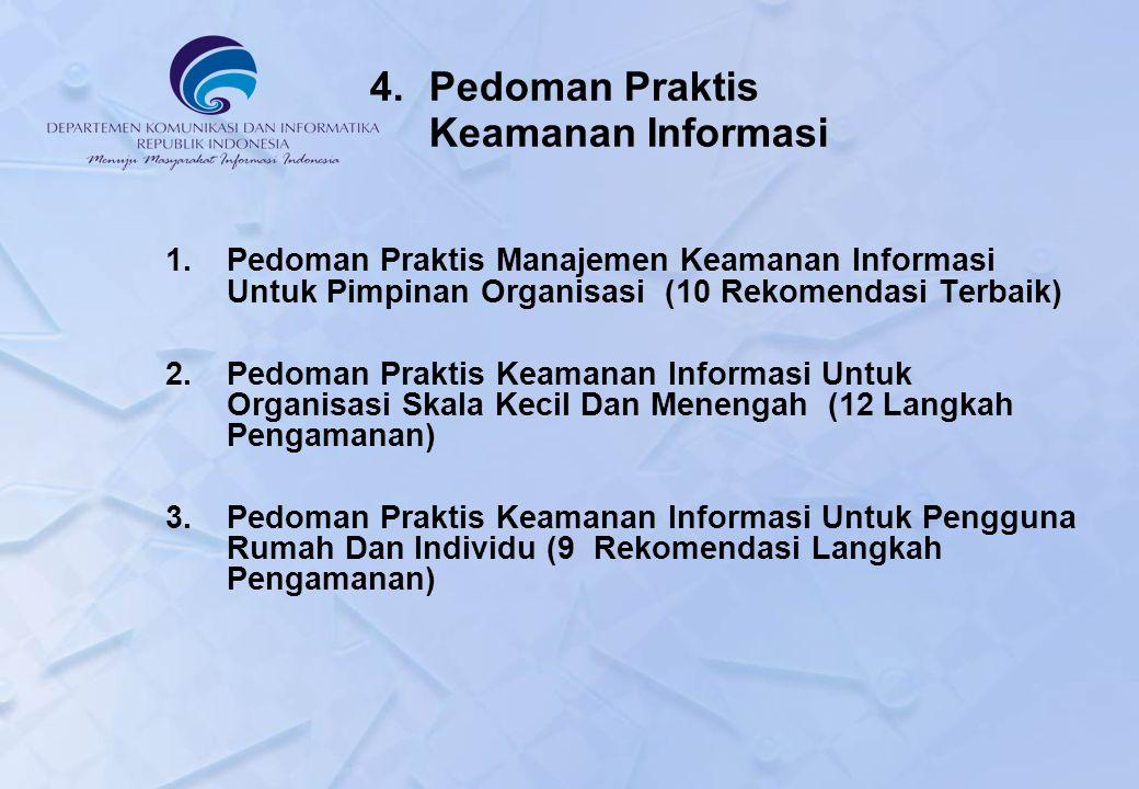 4. Pedoman Praktis Keamanan Informasi