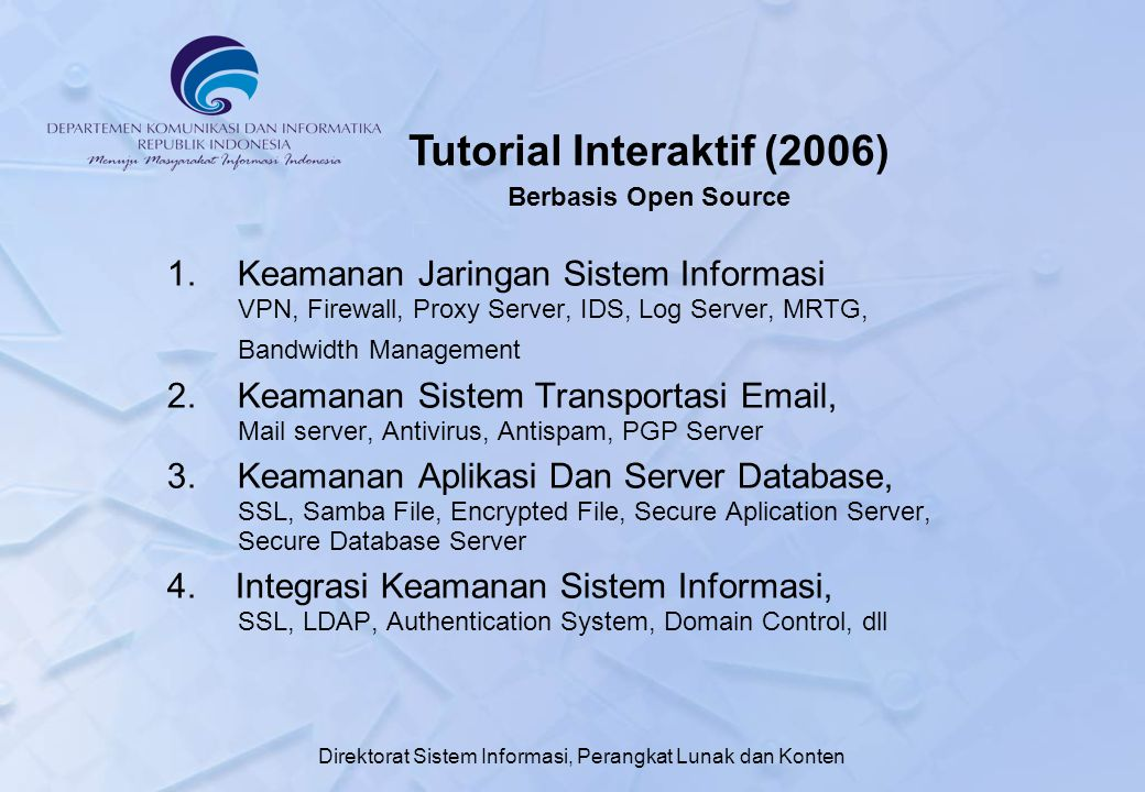 Tutorial Interaktif (2006)