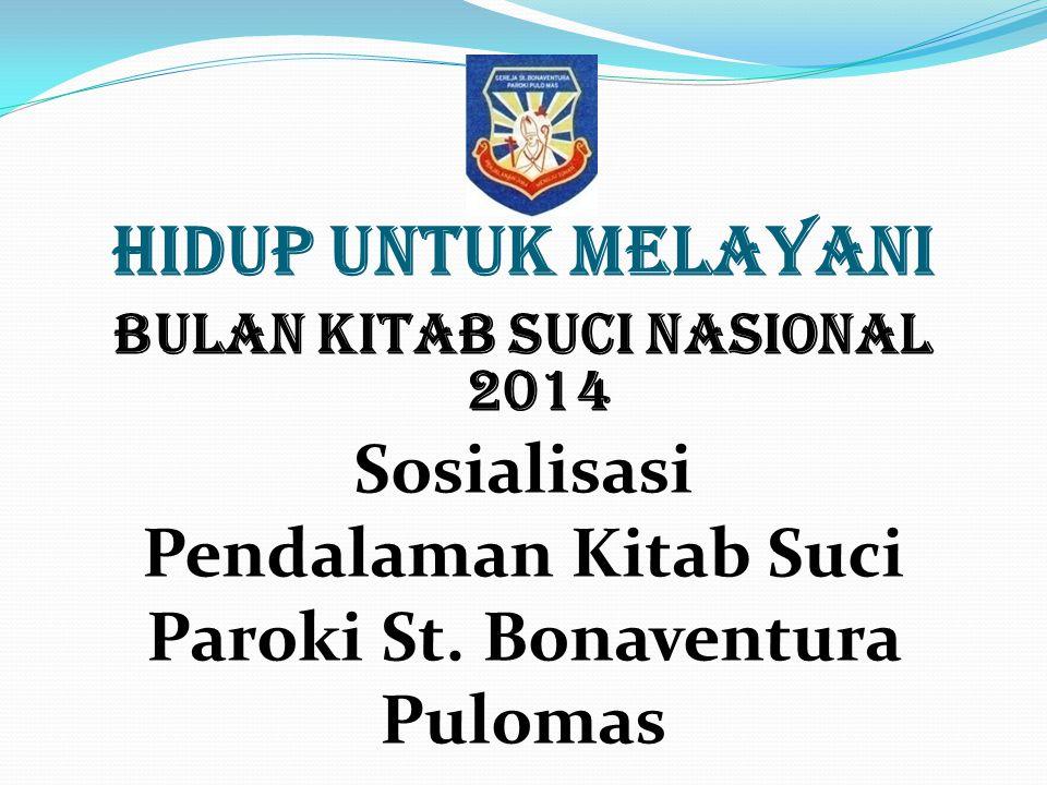 Bulan Kitab Suci Nasional 2014