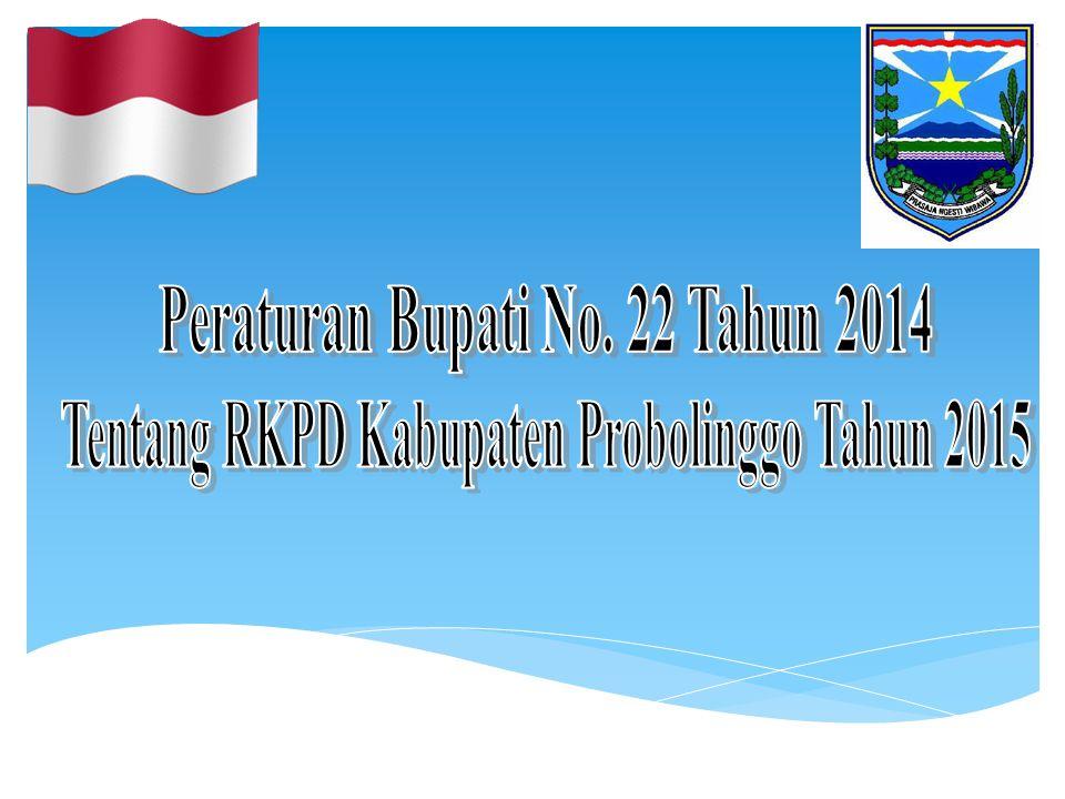 Peraturan Bupati No. 22 Tahun 2014