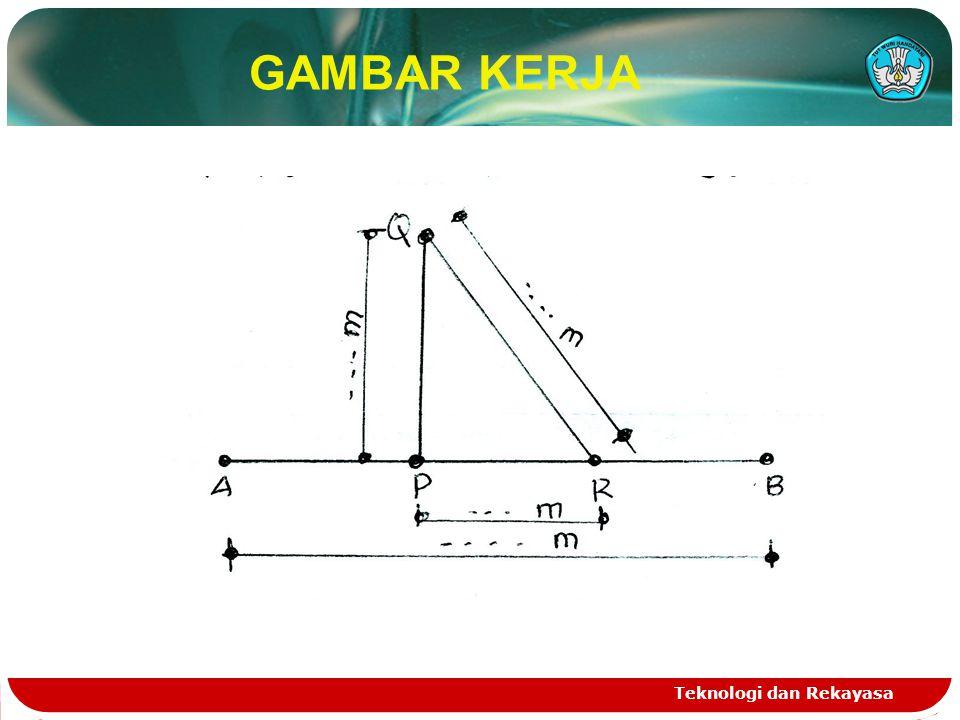 GAMBAR KERJA Teknologi dan Rekayasa