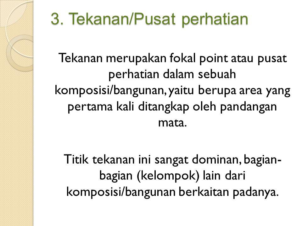 3. Tekanan/Pusat perhatian