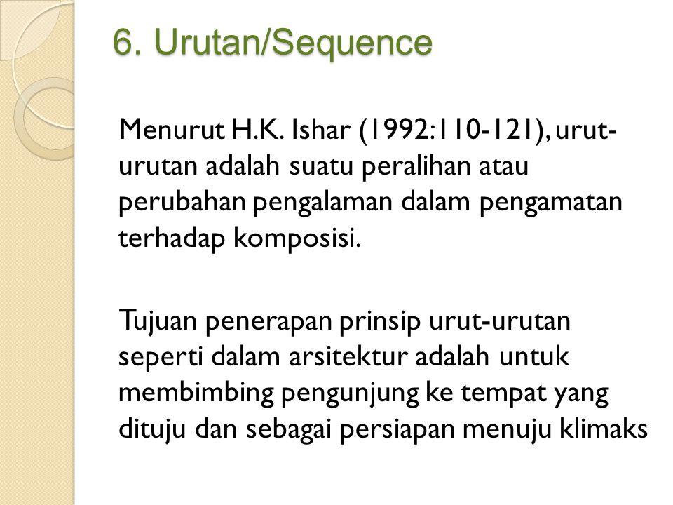 6. Urutan/Sequence