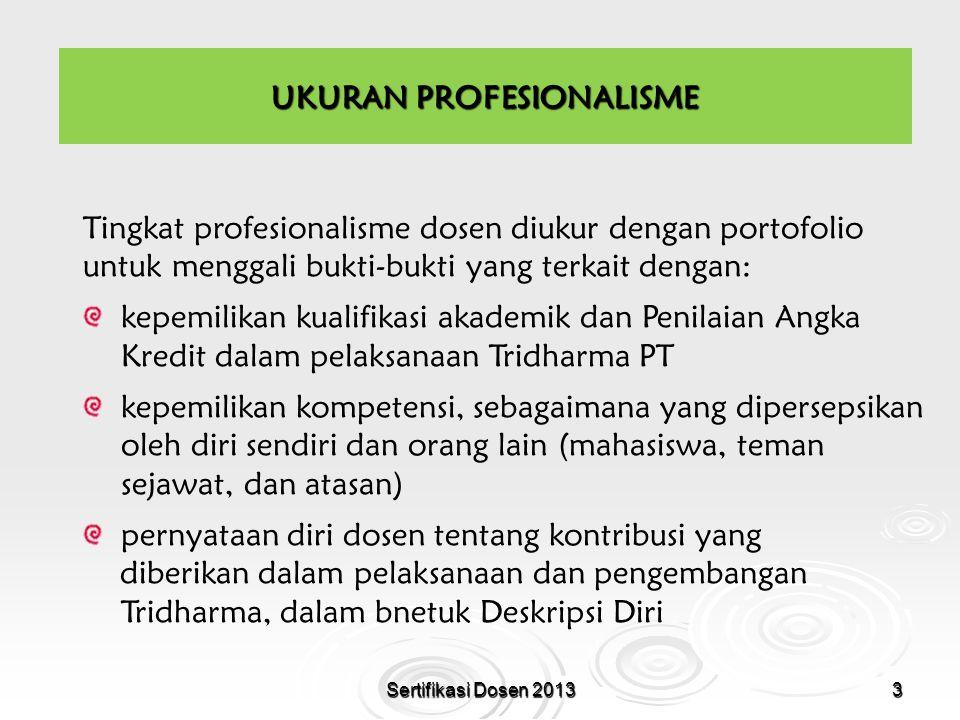 UKURAN PROFESIONALISME