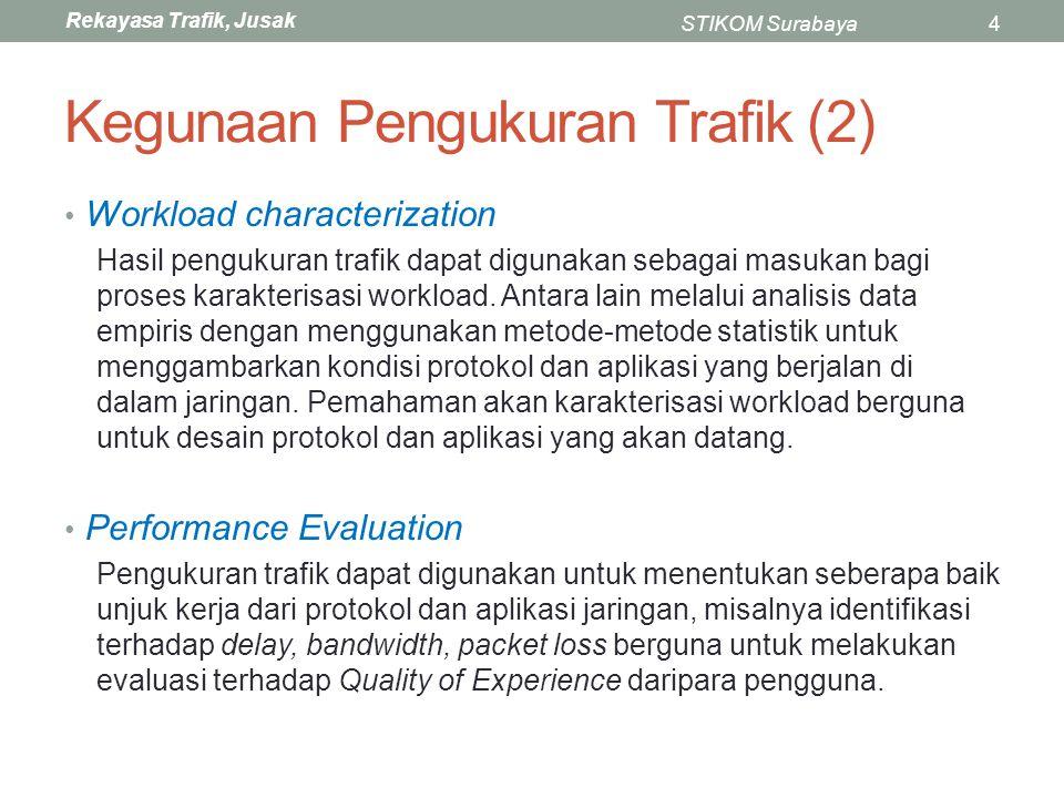 Kegunaan Pengukuran Trafik (2)