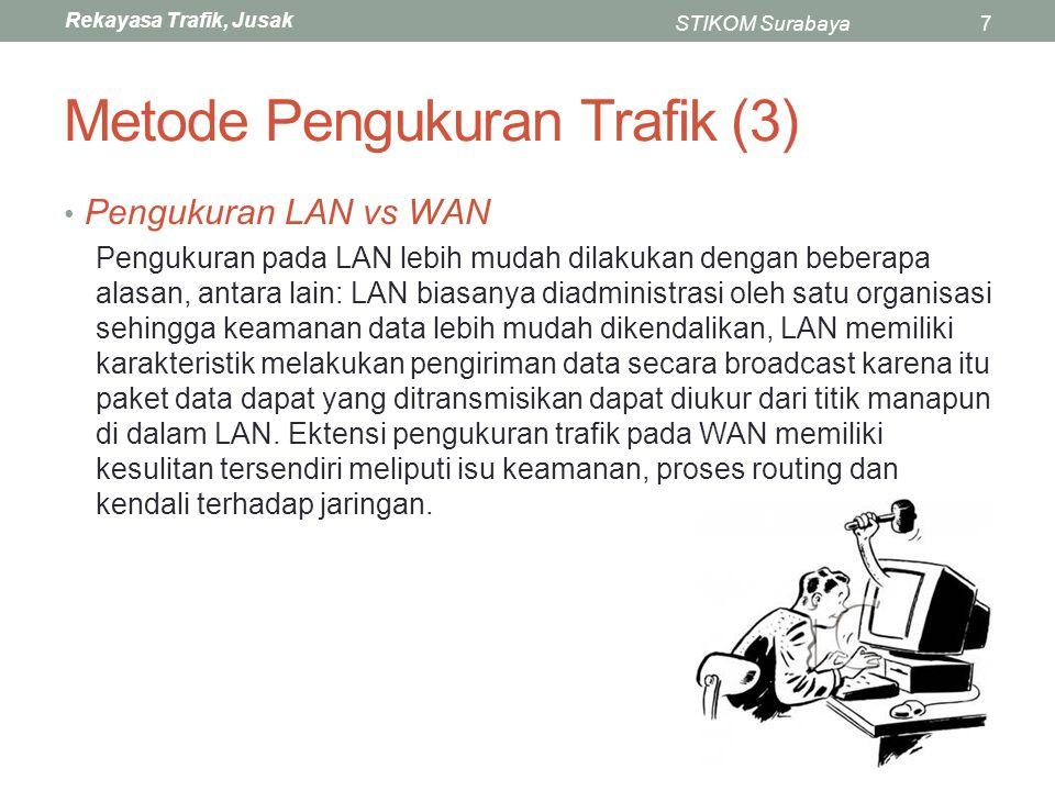 Metode Pengukuran Trafik (3)