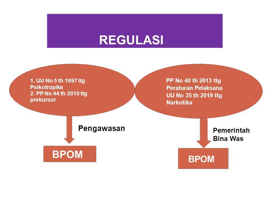 REGULASI BPOM BPOM Pengawasan Pemerintah Bina Was PP No 40 th 2013 ttg