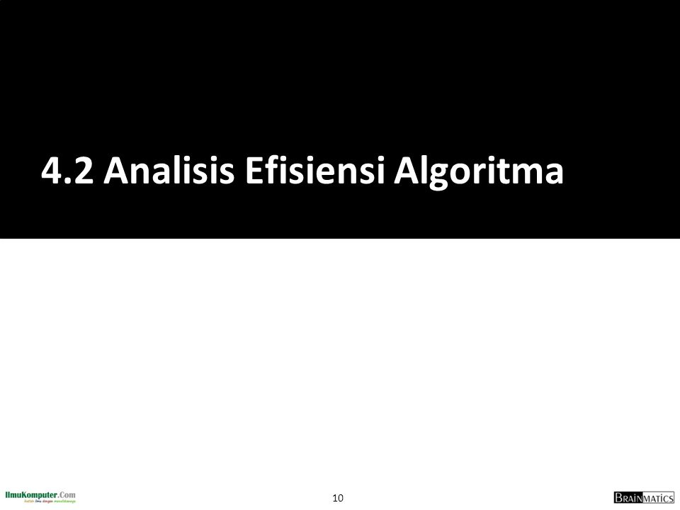 4.2 Analisis Efisiensi Algoritma