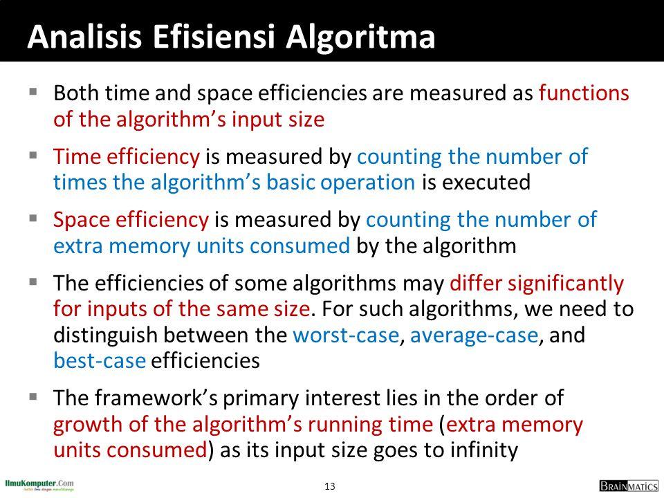 Analisis Efisiensi Algoritma