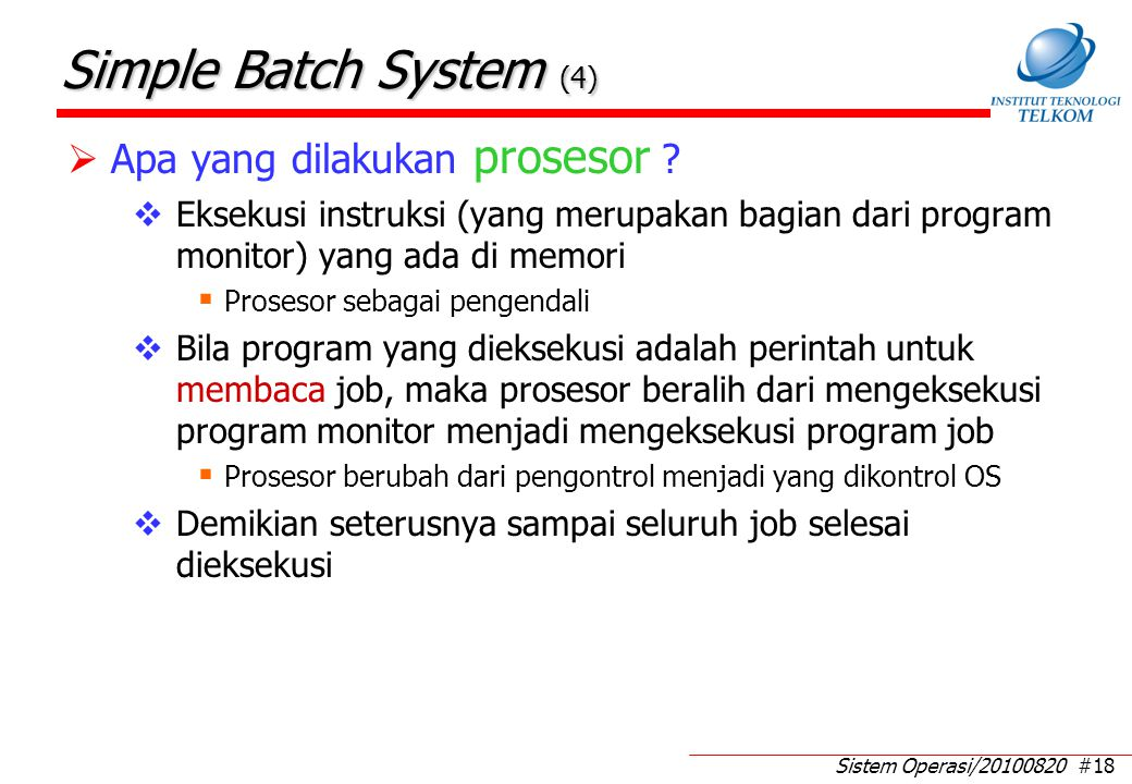 Feature Simple Batch System (1)