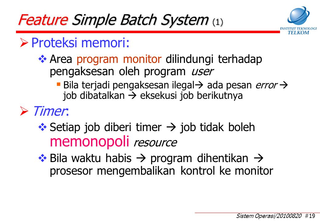 Feature Simple Batch System (2)