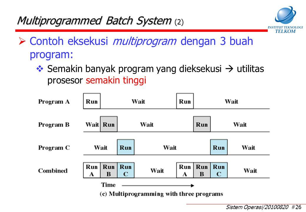 Contoh kasus Multiprogrammed Batch System (1)