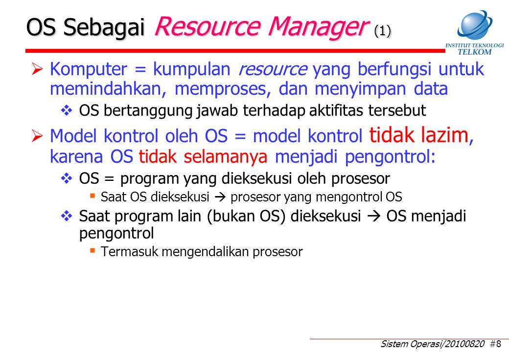 OS Sebagai Resource Manager (2)