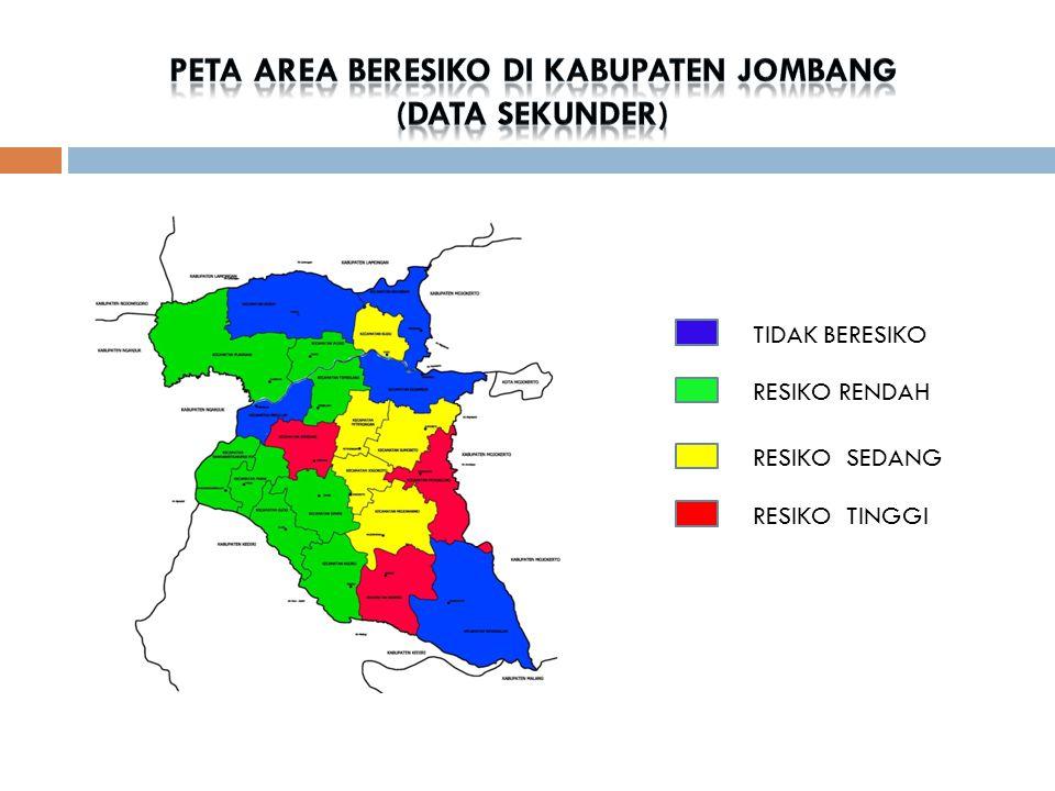 PETA AREA BERESIKO DI Kabupaten jombang