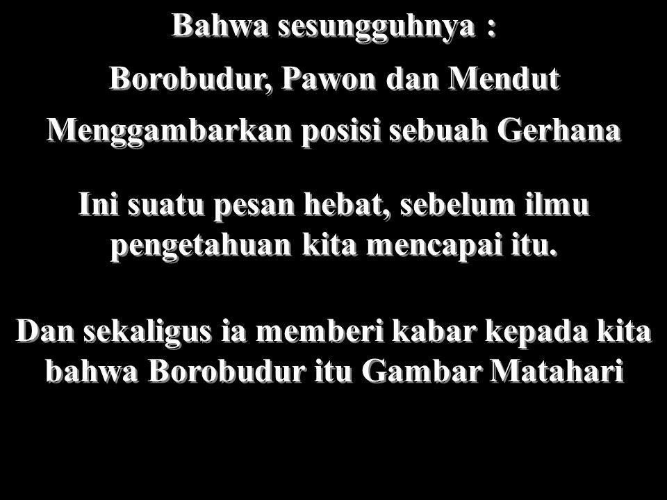 Borobudur, Pawon dan Mendut