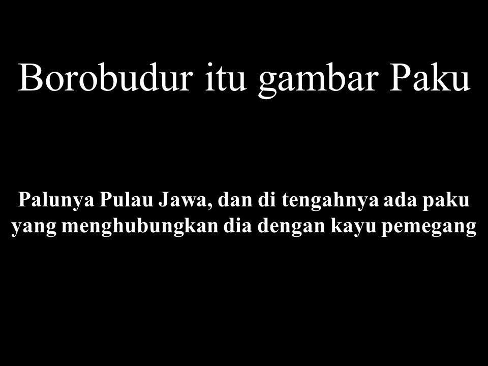 Borobudur itu gambar Paku