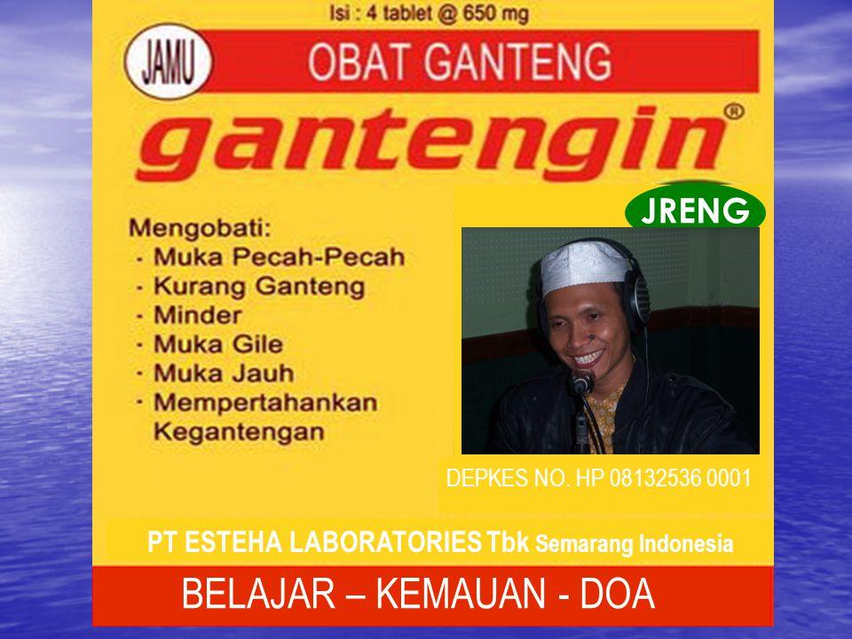 PT ESTEHA LABORATORIES Tbk Semarang Indonesia
