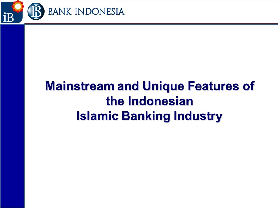 Mainstream and Unique Features of the Indonesian
