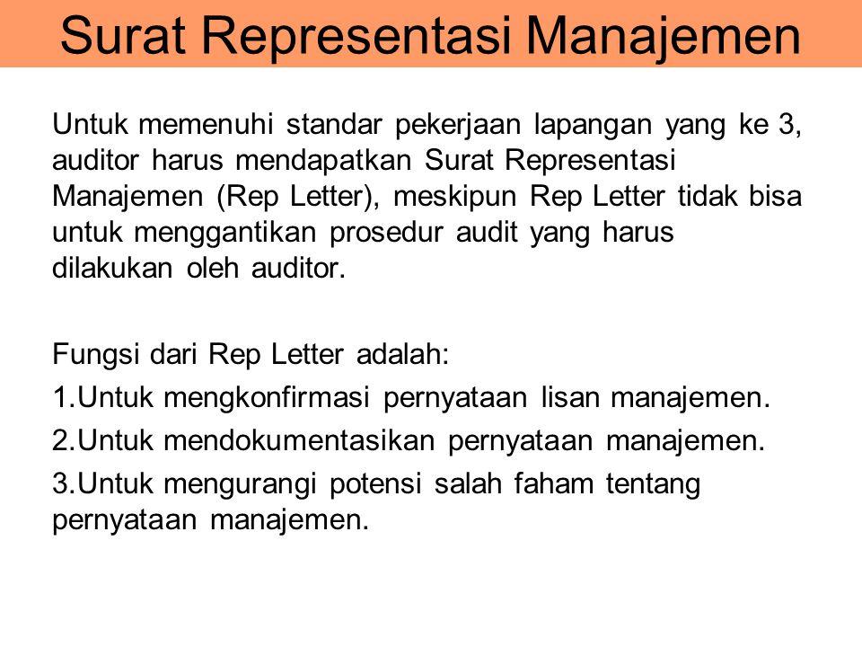 Surat Representasi Manajemen