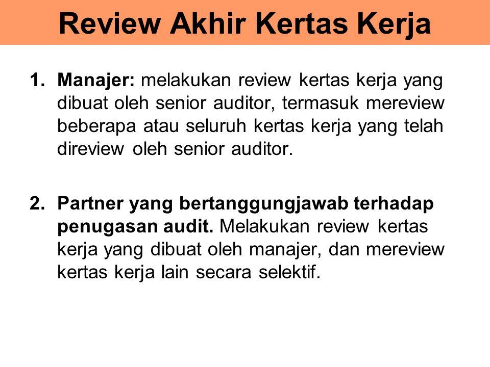 Review Akhir Kertas Kerja