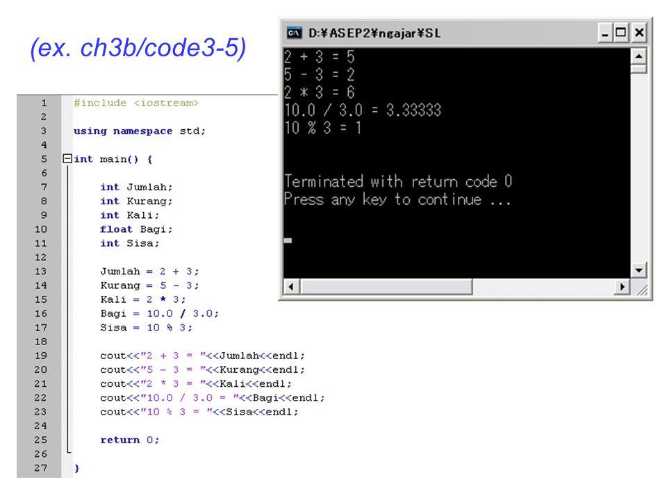 (ex. ch3b/code3-5)