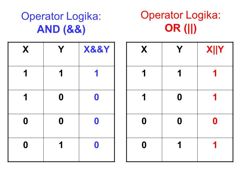 Operator Logika: AND (&&)